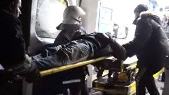 Взрыв в Тернополе. Спасательная операция. Видео