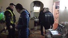 На месте убийства в Одессе