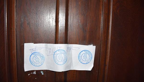 В Николаеве мэру заблокировали вход в кабинет