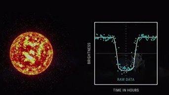 Поиски экзопланеты с помощью искусственного интеллекта
