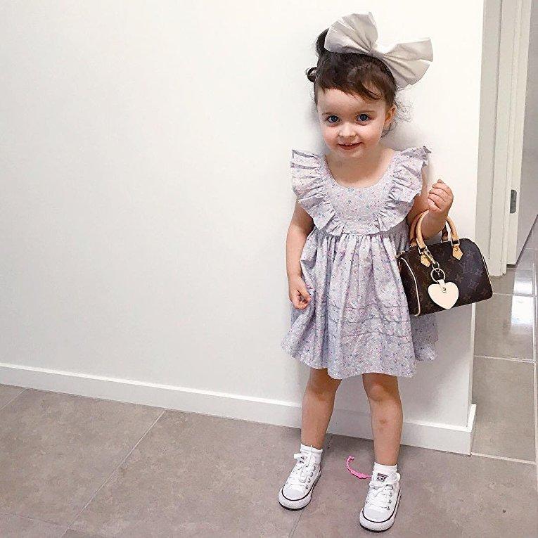 3-летняя звезда Instagram