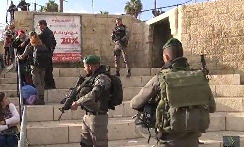 В Иерусалиме произошли столкновения палестинских активистов с полицией