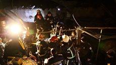 Мощный взрыв на заводе Тернополя