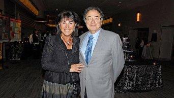Канадский миллиардер Барри Шерман и его супруга Хани