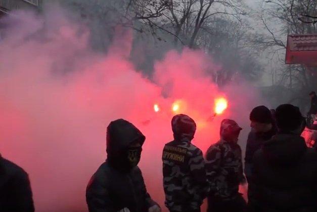 Потасовка в Кременчуге