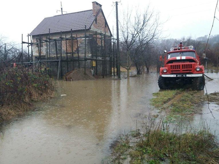 Наводнение в Закарпатье