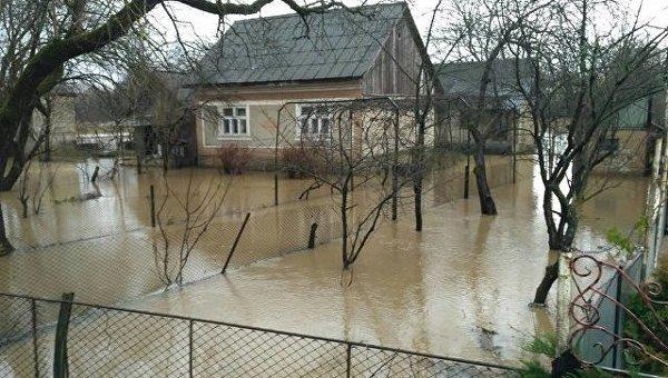 Наводнение на Западной Украине. Архивное фото