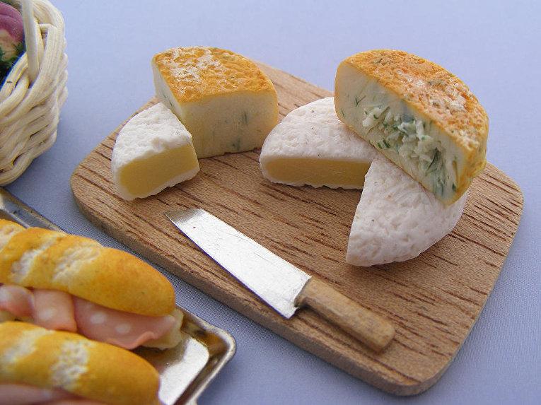 Кулинарный креатив. Израильский мастер создает аппетитные миниатюры