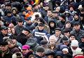 Марш за импичмент Петра Порошенко, организованный Михаилом Саакашвили. Архивное фото
