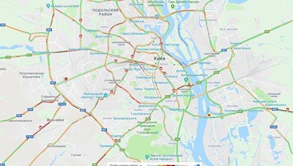 Google Maps Киева