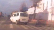 Микроавтобус сбил подростка в Бердичеве