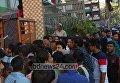 Давка на похоронах бывшего мэра в Бангладеш