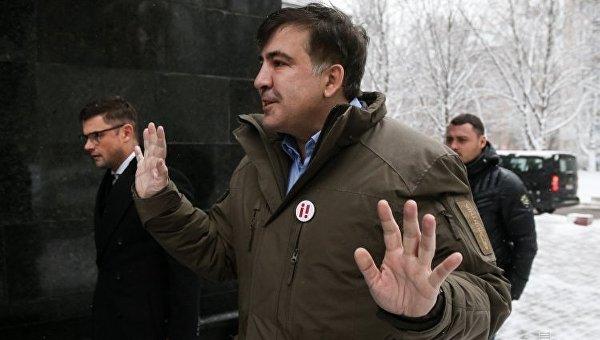 Саакашвили вызвали надопрос вСБУ