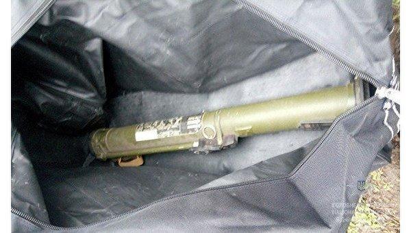 У жителя Кривого Рога изъяли гранатомет