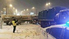 Транспортный коллапс под Киевом. Архивное фото