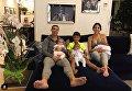 Криштиану Роналду вместе с 4 детьми и своей девушкой Джорджиной Родригез