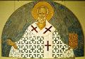 Николай Мирликийский. Фреска Ферапонтова монастыря