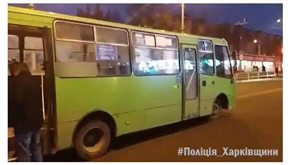 В Харькове мужчина угнал маршрутку