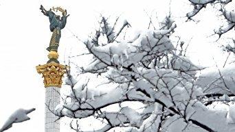Монумент Независимость в центре Киева