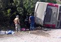 Смертельное ДТП с туристическим автобусом в Мексике
