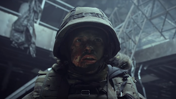 Кадр из фильма Киборги