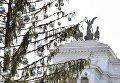 Елка в Риме