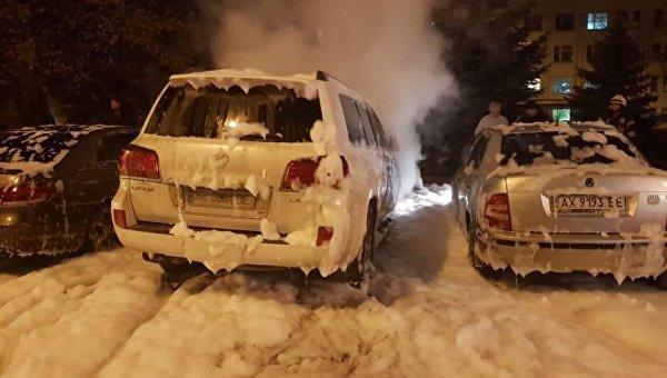 Резонансное ДТП в Харькове. Мужу судьи сожгли дорогое авто - СМИ