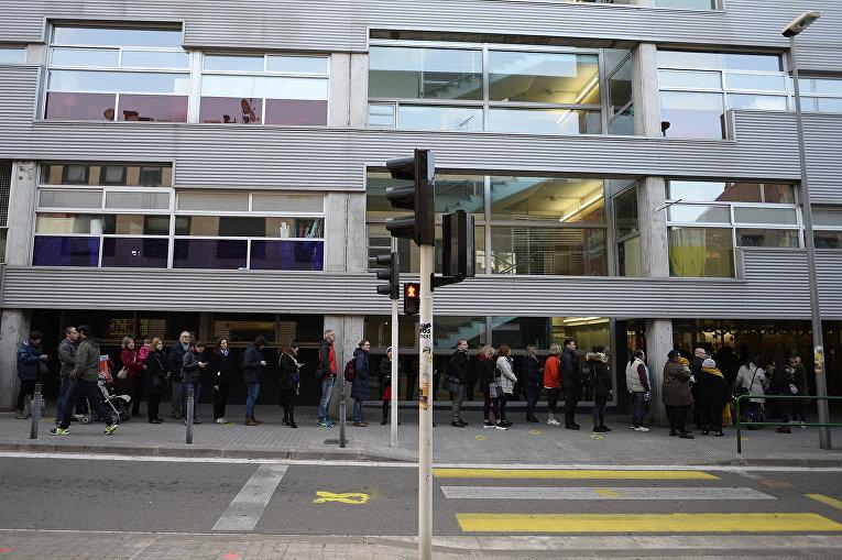 Региональные выборы в Каталонии