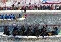 В Китае пройдет чемпионат мира по катанию на драконьих лодках по льду