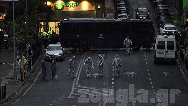 Взрыв в Афинах возле здания суда