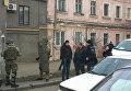 Спецоперация в Одессе: полиция штурмовала автосалон, 22 декабря 2017