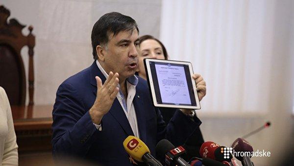 Власти Нидерландов удовлетворили запрос Саакашвили наполучение визы