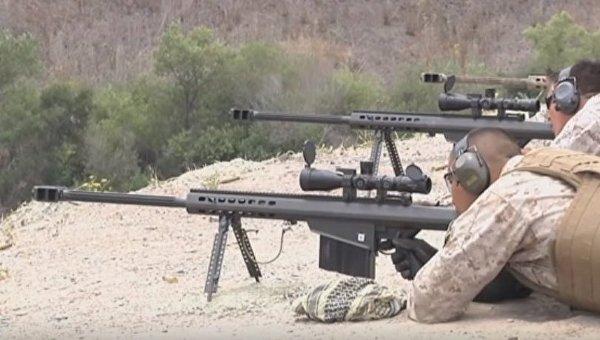Американские винтовки Barrett M107