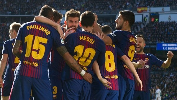 Барселона разгромила Реал