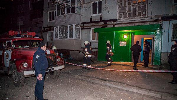 ВДнепре из-за взрыва вквартире пострадала сотрудник милиции
