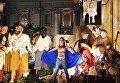 Участницы Femen провели акцию во время рождественской службы в Ватикане