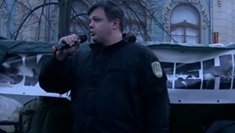 Семенченко об акции на Майдане. Видео
