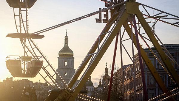 Церковь в Киеве. Архивное фото