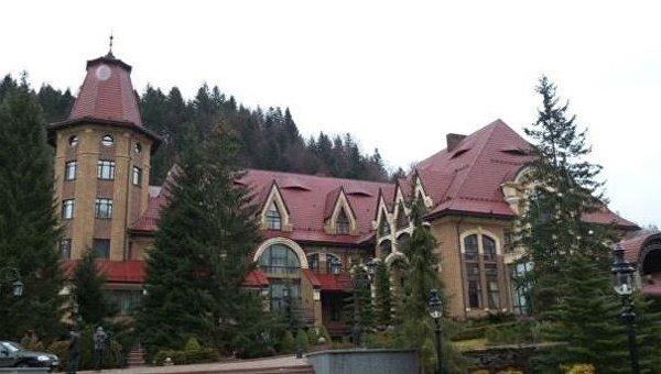 Резиденция президента Украины Синегора в селе Гута
