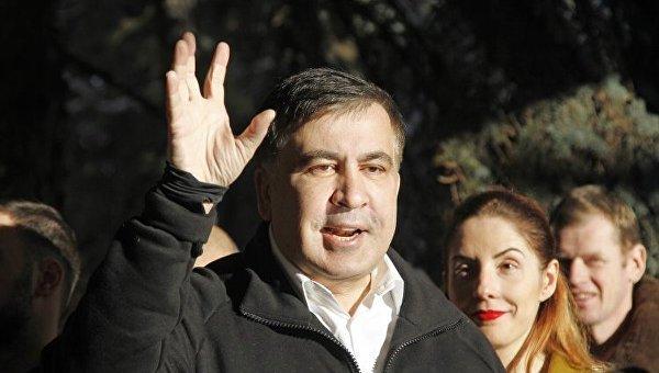 Михаил Саакашвили отказался заходить вСБУ для допроса
