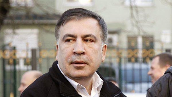 Экс-председатель Одесской ОГА, лидер партии Рух новых сил Михаил Саакашвили. Архивное фото