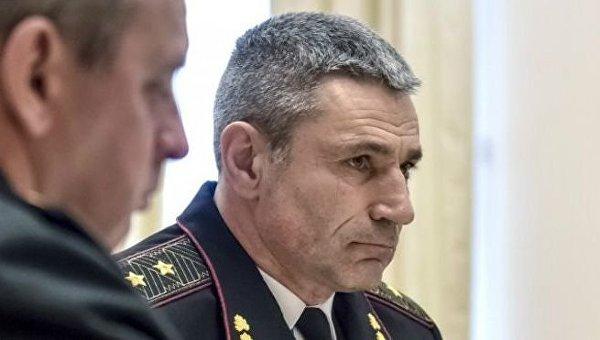 Командующий ВМС Украины Игорь Воронченко
