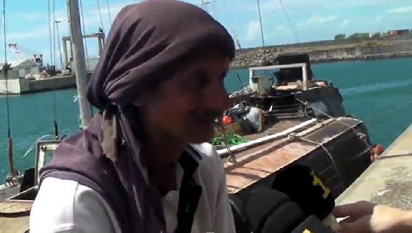 Моряка скотом спасли после 7-ми месяцев дрейфа вИндийском океане