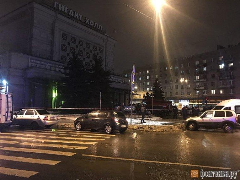 На месте взрыва в Петербурге, 27 декабря 2017