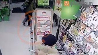 Подозреваемый во взрыве в Санкт-Петербурге. Видео