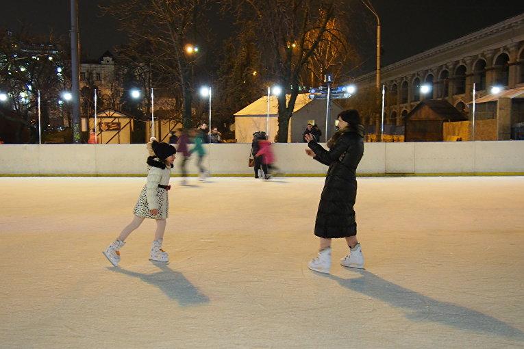 В центре Киева открылся новогодний городок