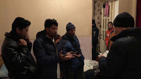 Нелегальные мигранты из Бангладеш задержаны в Украине