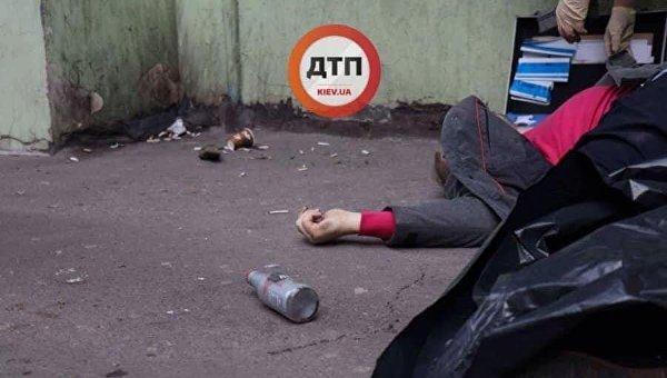 Тело мужчины в Киеве, возле которого лежал энергетик