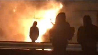 В Киеве горят МАФы