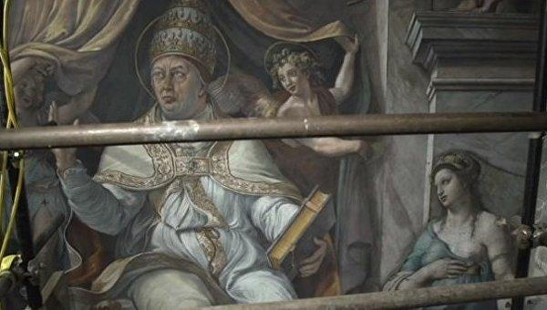 ВВатикане вовремя уборки отыскали утерянные картины Рафаэля